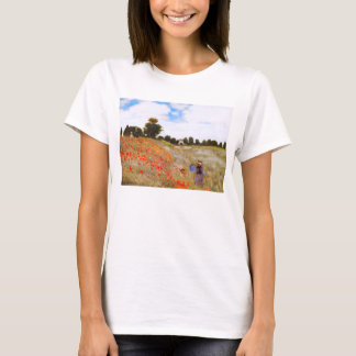 Monet Poppies T-shirt