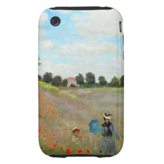 Monet Poppy Field iPhone 3 Tough Cases