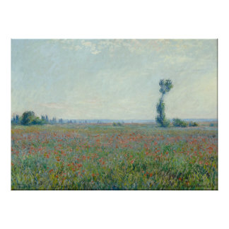 Monet, Poppy Field Poster