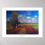 Monet poppy field summer impressionist painting