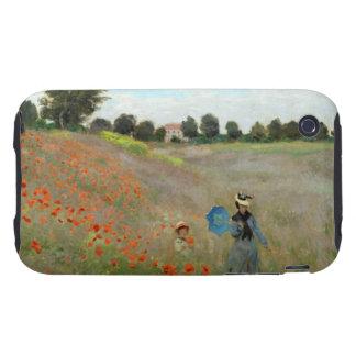 Monet Poppy Field Tough iPhone 3 Case