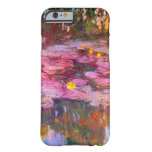 Monet Purple Water Lilies iPhone 6 case Barely There iPhone 6 Case