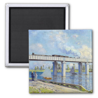 Monet - Railway Bridge at Argenteuil Magnet