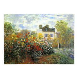 Monet Rose Garden Invitations