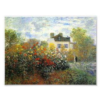Monet Rose Garden Photo Print