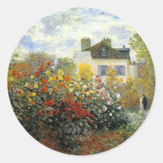 Monet Rose Garden Stickers