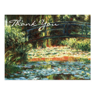 Monet s Bridge Over The Water Lily Pond Post Card
