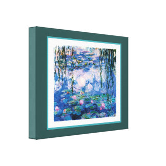 Monet's Water Lilies Canvas Print