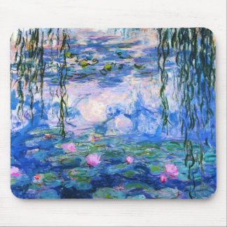 Monet's Water Lilies Mouse Pad