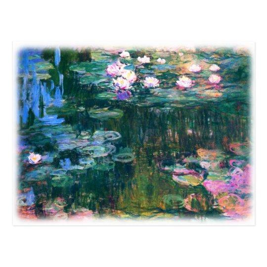 Monet's Water Lilies Postcard