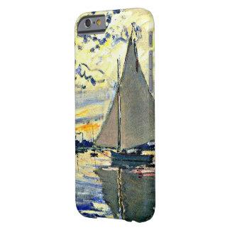 Monet - Sailboat at le Petit Gennevilliers iPhone 6 Case