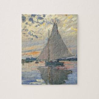 Monet Sailboat French Impressionist Jigsaw Puzzle