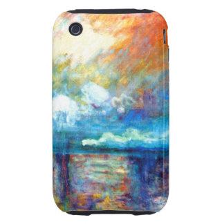 Monet Smoke in the Fog iPhone 3 Tough Case