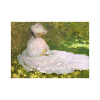 Monet Springtime Canvas Print