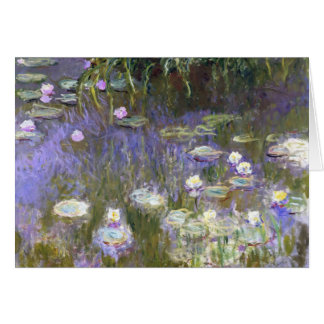 Monet Springtime Greeting Card