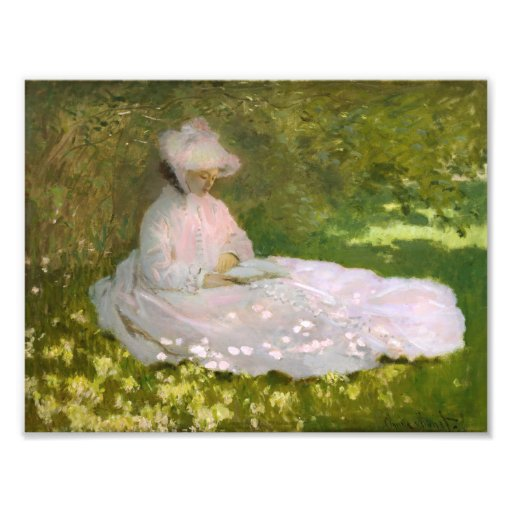Monet Springtime Photo Art