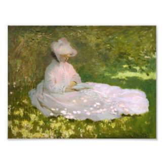 Monet Springtime Photo Print