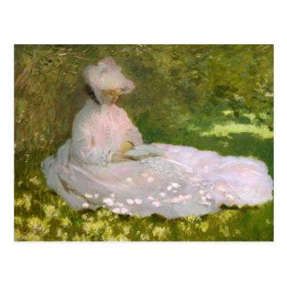 Monet Springtime Postcard