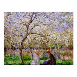 Monet - Springtime Postcard