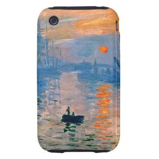 Monet Sunrise iPhone 3 Tough Cases