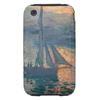 Monet - Sunrise Marine Tough iPhone 3 Case