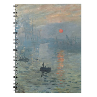 MONET SUNRISE NOTEBOOKS