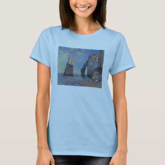 Monet_The Cliffs at Etretat T-Shirt