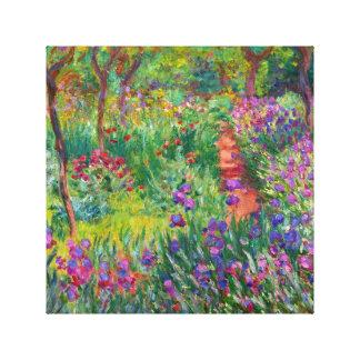 "Monet ""The Iris Garden at Giverny"" Canvas Print"