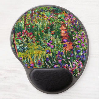 Monet - The Iris Garden at Giverny Gel Mouse Mat