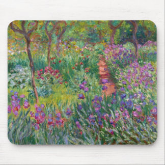 "Monet ""The Iris Garden at Giverny"" Mouse Mat"