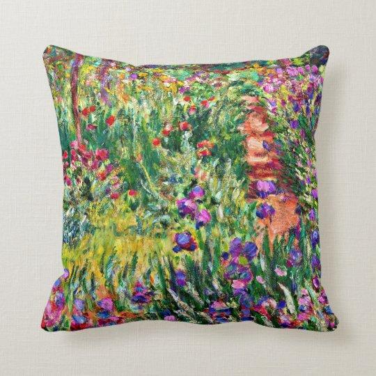 Monet - The Iris Garden at Giverny Throw