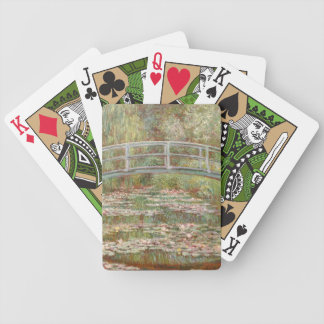 Monet: The Japanese Bridge Bicycle Playing Cards