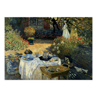 Monet - The Luncheon Poster