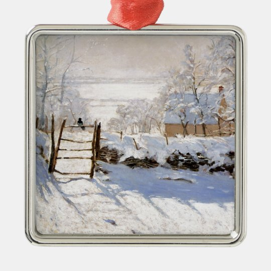 Monet - The Magpie Christmas Ornament