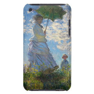 Monet The Promenade Woman with a Parasol iPod Case