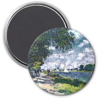 Monet: The Seine at Argenteuil artwork Magnet