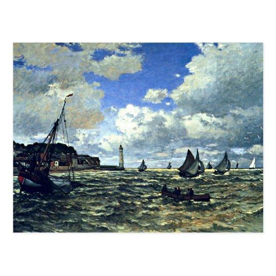 Monet - The Seine Estuary at Honfleur Postcard