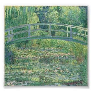 Monet: The Water Lily Pond Poster