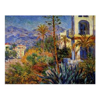 Monet - Villas at Bordighera Postcard