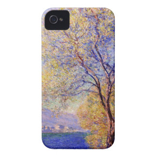 monet water flowers antibes-seen-from-the-salis-ga iPhone 4 covers