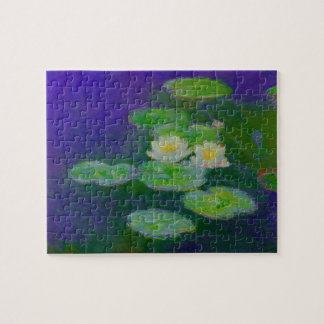 Monet Water Lilies 1897 Puzzle