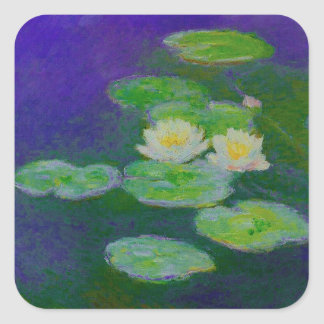 Monet Water Lilies 1897 Stickers