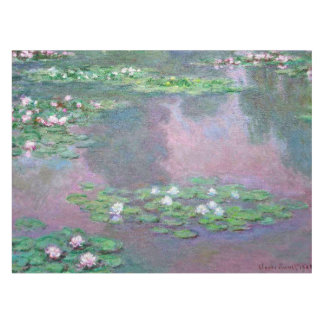 Monet Water Lilies 1905 Fine Art Tablecloth