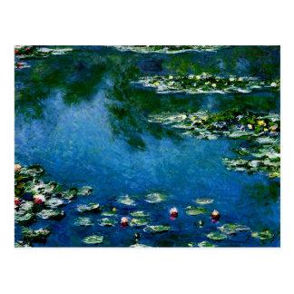 Monet - Water Lilies, 1906 Postcard