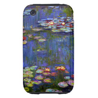 Monet Water Lilies 1916 iPhone 3 Tough Cases