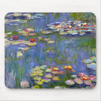 Monet Water Lilies 1916 Mouse Pad