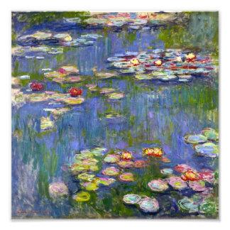 Monet Water Lilies 1916 Print Photo Print
