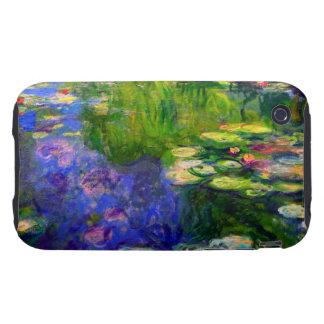 Monet Water Lilies 1917-19 Tough iPhone 3 Case