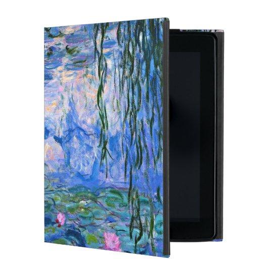 Monet - Water Lilies 1919 artwork iPad Folio