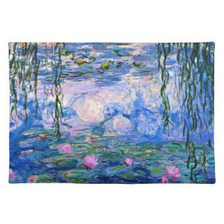 Monet - Water Lilies 1919 artwork Placemat